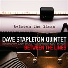 DAVE STAPLETON Between The Lines album cover