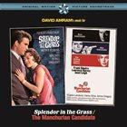 DAVID AMRAM Splendor in the Grass/The Manchurian Candidate album cover