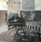 DAVID BAKER Concerto For Violin And Jazz Band / Concerto for Flute, String Quartet and Jazz Band album cover