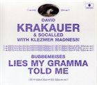 DAVID KRAKAUER Bubbemeises: Lies My Gramma Told Me album cover