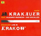DAVID KRAKAUER Live in Krakow album cover
