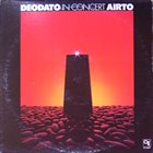DEODATO Deodato / Airto : In Concert album cover