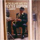 DEXTER GORDON At the Village Gate 1976 album cover