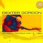 DEXTER GORDON Atlanta Georgia May 5, 1981 album cover