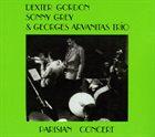 DEXTER GORDON Parisian Concert album cover