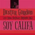 DEXTER GORDON Soy Califa: Live From Magleaas Højskole 1967 album cover