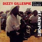 DIZZY GILLESPIE At Newport (50th anniversary edition) album cover