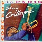DIZZY GILLESPIE Concert In Paris album cover