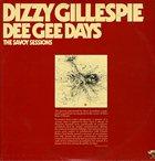 DIZZY GILLESPIE Dee Gee Days album cover