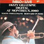 DIZZY GILLESPIE Digital At Montreux, 1980 album cover