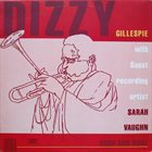 DIZZY GILLESPIE Dizzy Gillespie With Guest Recording Artist Sarah Vaughn : Body And Soul (aka Long Ago) album cover