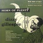 DIZZY GILLESPIE Horn of Plenty album cover