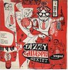 DIZZY GILLESPIE Jazztime Paris Vol. 1 / Dizzy Gillespie Showcase album cover