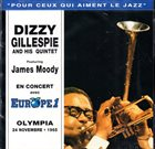 DIZZY GILLESPIE En Concert Avec Europe 1 - Olympia 24 Novembre • 1965  (aka Paris Jazz Concert: Olympia, 24 November 1965) album cover