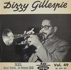DIZZY GILLESPIE Paris, Salle Pleyel, 28 Février 1948 (aka Dizzy Gillespie Vol. 3) album cover