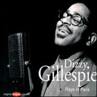 DIZZY GILLESPIE Plays in Paris album cover