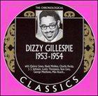 DIZZY GILLESPIE The Chronological Classics: Dizzy Gillespie 1953-1954 album cover