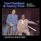DOC CHEATHAM Duets & Solos album cover