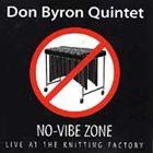 DON BYRON No-vibe Zone album cover