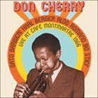 DON CHERRY Live at Café Montmartre 1966 album cover