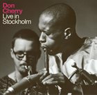 DON CHERRY Live in Stockholm album cover
