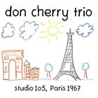 DON CHERRY Studio 105, Paris 1967 album cover