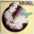 DON EWELL Chicago '57 album cover