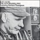 DON RENDELL Just Music (The Don Rendell Five feat. Barbara Thompson) album cover