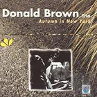 DONALD BROWN Autumn In New York album cover