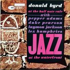 DONALD BYRD At the Half Note Cafe, Volume 2 album cover