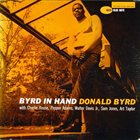 DONALD BYRD Byrd in Hand album cover