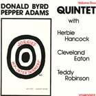 DONALD BYRD Donald Byrd Pepper Adams Quintet : Jorgie's Hip-Intertainment Volume One album cover