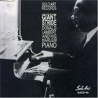 DONALD LAMBERT Giant Stride Harlem Piano album cover