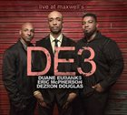 DUANE EUBANKS Duane Eubanks & DE3 : Live at Maxwell's album cover