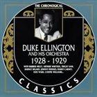 DUKE ELLINGTON 1928-1929 album cover