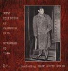 DUKE ELLINGTON At Carnegie Hall album cover
