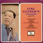 DUKE ELLINGTON At Carnegie Hall December 11, 1943 album cover