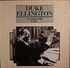 DUKE ELLINGTON At Fargo, 1940: Live album cover