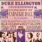 DUKE ELLINGTON Concert At Carnegie Hall album cover