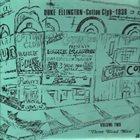 DUKE ELLINGTON Cotton Club 1938 - Volume 2 album cover