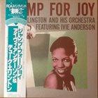 DUKE ELLINGTON Duke Ellington And His Orchestra, Ivie Anderson : Jump For Joy album cover