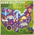 DUKE ELLINGTON Festival Session album cover