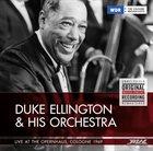 DUKE ELLINGTON Live at the Opernhaus Cologne 1969 album cover