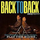 DUKE ELLINGTON Play The Blues - Back To Back (with Johnny Hodges) album cover