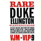 DUKE ELLINGTON Rare Duke Ellington Masterpieces album cover