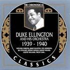 DUKE ELLINGTON The Chronogical Duke Ellington And His Orchestra 1939-1940 album cover