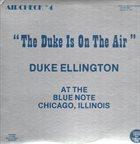 DUKE ELLINGTON The Duke Is On The Air album cover