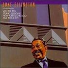 DUKE ELLINGTON The Private Collection, Vol. 10: Studio Sessions, New York & Chicago, 1965, 1966 & 1971 album cover