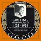 EARL HINES 1932 - 1934 album cover