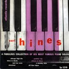 EARL HINES A Fabulous Collection Of His Most Famous Piano Solos album cover